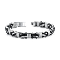 European Style Mens Stainless Steel Link Bracelet Style SB3470