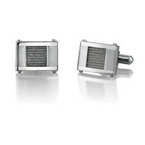 Stainless Steel Cable Design Cufflinks Style SC1008