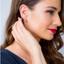 Peridot Sterling Silver Empress Stud Earrings 1.25 Carats Total
