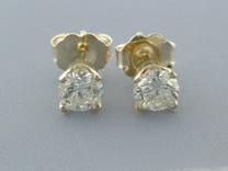 APR$2870 0.52CT DIAMOND STUDS EARRINGS NR Style E8442