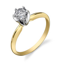 BARGAIN 1/2CT DIAMOND SOLITAIRE RING Style R23818