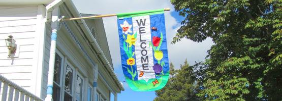 House banner flag