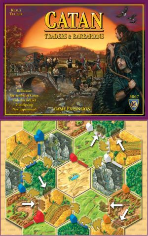 Catan-Traders and Barbarians Expansion
