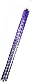 Holographic Mylar Windsock - purple