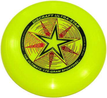 Ultra-Star 175 Gram Sport Disc-Yellow