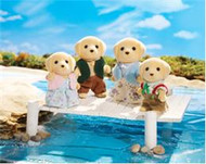 Calico Critters Yellow Labrador Family