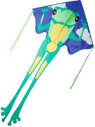 Large Easy Flyer Kite - Green Frog