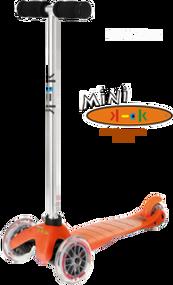 Orange Mini Scooter
