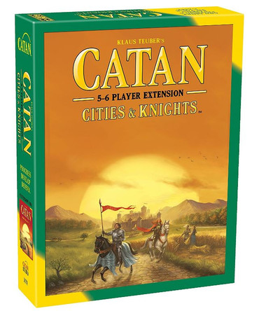 Catan: Cities & Knights 5-6 Player Extension - 5th Edition