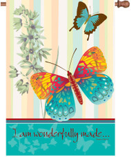 Wonderfully Made Butterflies House Banner