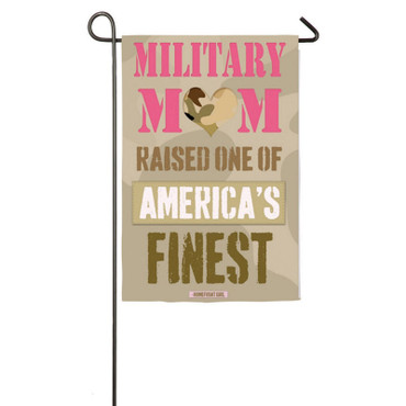 Military Mom Garden Display
