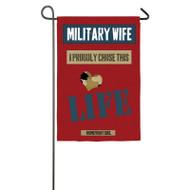 Military Wife Garden Banner