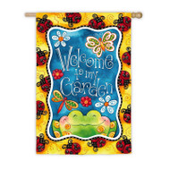 Welcome to My Garden Banner