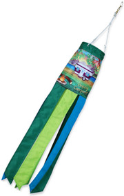 "28"" Happy Campers Windsock"