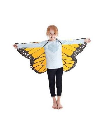Monarch Wings - Orange