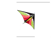 Prism Stowaway Delta Kite - Fire