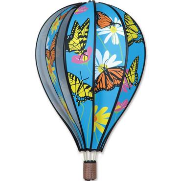"""22"""" Hot Air Balloon Hanging Spinner - Butterflies"""