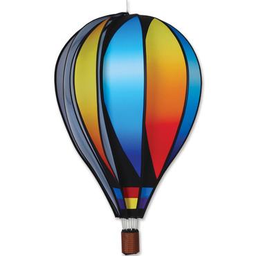 "22"" Hot Air Balloon Hanging Spinner - Sunset"