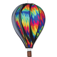 "22"" Hot Air Balloon Hanging Spinner - Tie Dye"