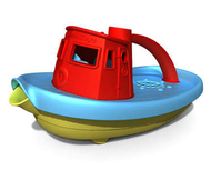 Green Toys Tugboat - Red