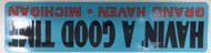 Havin' A Good Time Grand Haven Sticker