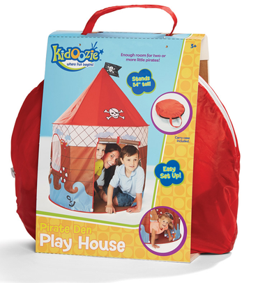 Kidoozie Pirate Den Play House