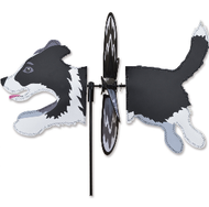 "Border Collie 19"" Garden Spinner"