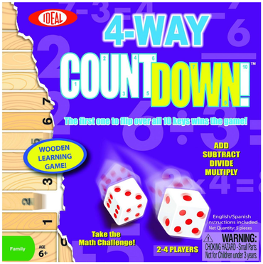 4-Way Countdown Game