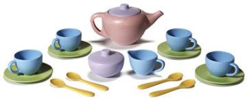 Green Toys 17-piece Tea Set