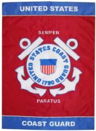 Coast Guard Mini Garden Banner