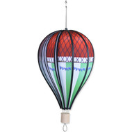 "18"" Hot Air Balloon Hanging Spinner - Blanchard Jeffries"