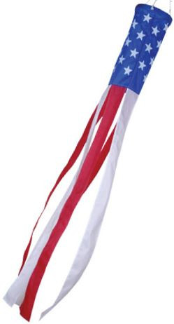 Stars and Stripes Windsock - 40in
