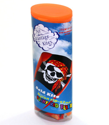 Pirate (Orange) Small Sled Kite