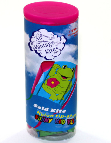 Frog (Pink) Small Sled Kite
