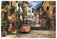 In the Heart of Southern France 500pc Puzzle Completed
