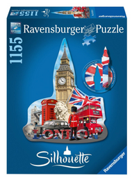 Big Ben Silhouette 1155pc Ravensburger Puzzle Box