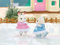 Calico Critters Ice Skating Friends - Play Scene