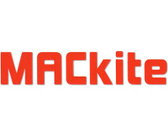 "6.5"" Orange MACkite Block Letter Sticker"