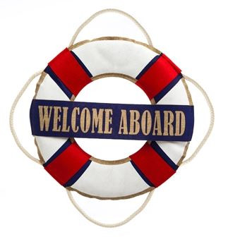 Nautical Welcome Door Hanger