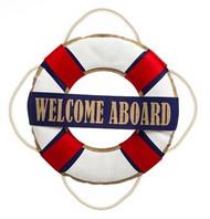 Nautical Welcome Door Hanger
