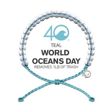 4Ocean Bracelet - Light Blue