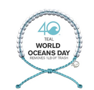 4Ocean Bracelet - Light Blue