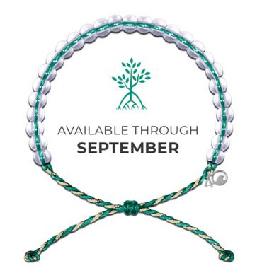 4Ocean Bracelet - Mangroves and Estuaries Green