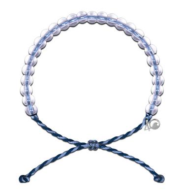 4Ocean Bracelet - Whale Blue & Purple