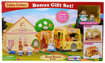 Calico Critters Forest Nursery Gift Set - Box