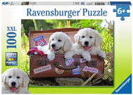 Traveling Pups 100pc XXL Puzzle - Box