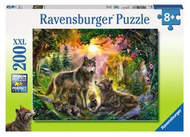 Wolf Family in the Sun 200pc XXL Puzzle - Box