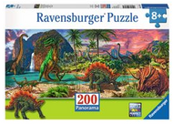 Land of Dinosaurs 200pc Panoramic Puzzle - Box