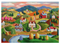 Rolling Hills 300pc Large Format Puzzle - Completed