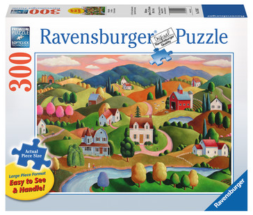 Rolling Hills 300pc Large Format Puzzle - Box
